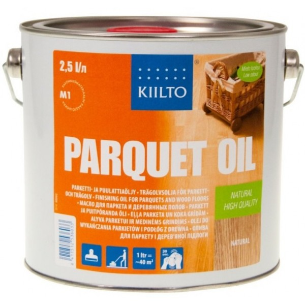 Parquet Oil Antique Black (черный, 1л.)