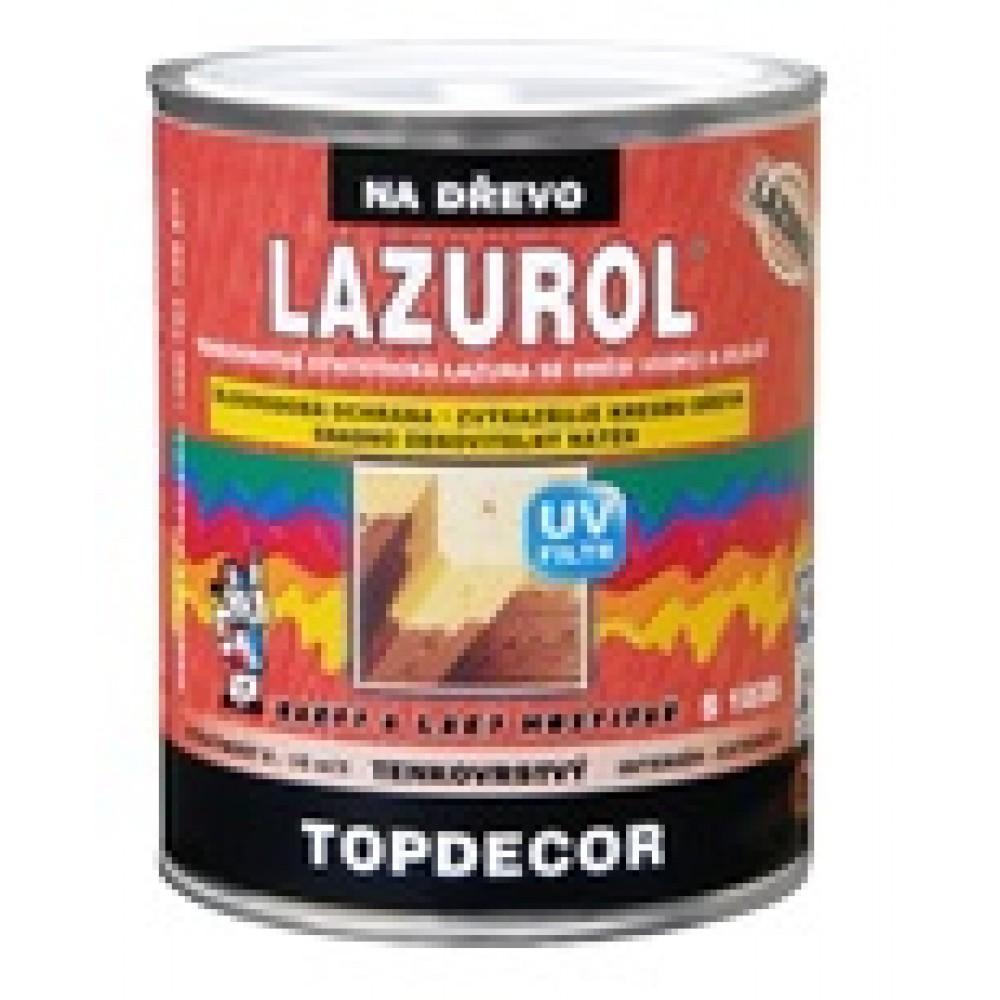 LAZUROL TOPDECOR S1035 Тонкослойная синтетическая лазурь со смесью воска и масел (4,5л.) черешня