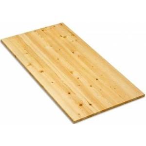 Мебельный щит из лиственницы, цельный,сорт АС, односторонний 20*600*1200