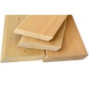 Скошенный  планкен Сорт C лиственница 20*90*2000
